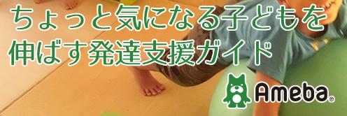 (愛知県)ちょっと気になる子どもを伸ばす発達支援ガイド、アメブロ